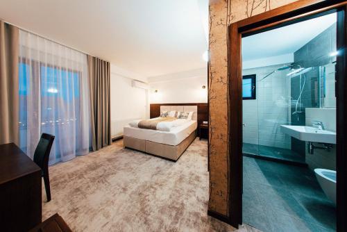 O baie la Hotel Buchenland