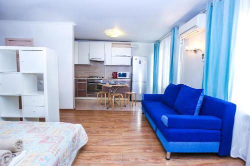 Гостиная зона в Апартаменты на Трехгорном Валу