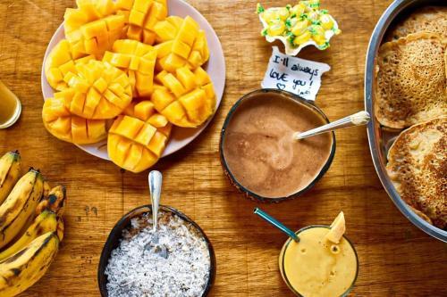 Nourriture dans la maison d'hôtes ou à proximité