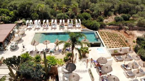Vista de la piscina de Finca Hotel Rural Es Turó o alrededores