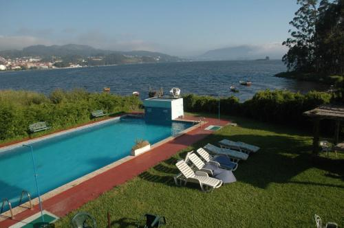 A view of the pool at Las Islas or nearby