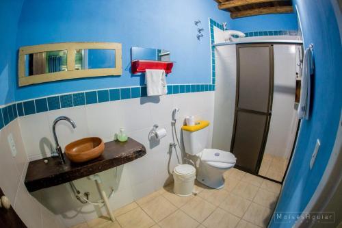 Um banheiro em Verde Vida Ecopousada