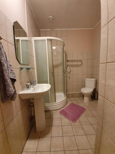 A bathroom at Renau