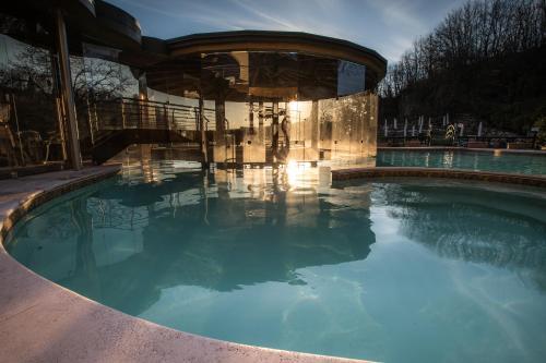 The swimming pool at or near Residence Terme Di Sorano