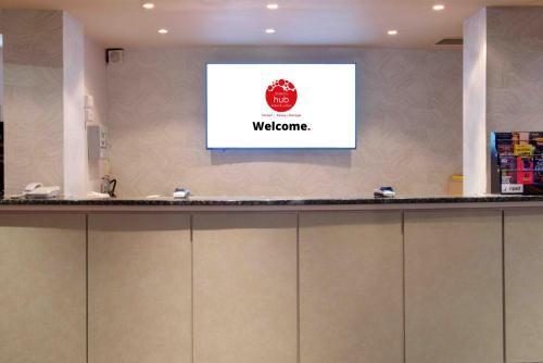 El vestíbulo o zona de recepción de Waterloo Hub Hotel and Suites