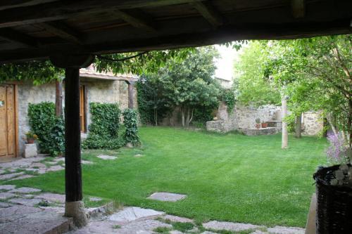 Jardín al aire libre en El Canto del Gallo