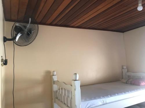 Cama ou camas em um quarto em Reges Hostel
