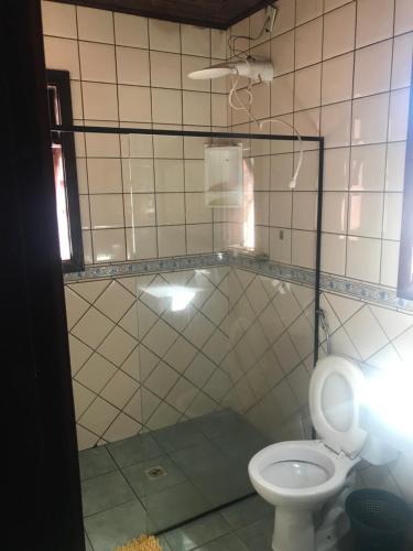 Um banheiro em Reges Hostel