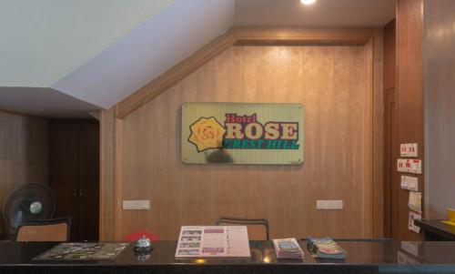 The lobby or reception area at Hotel Rose Crest Hill