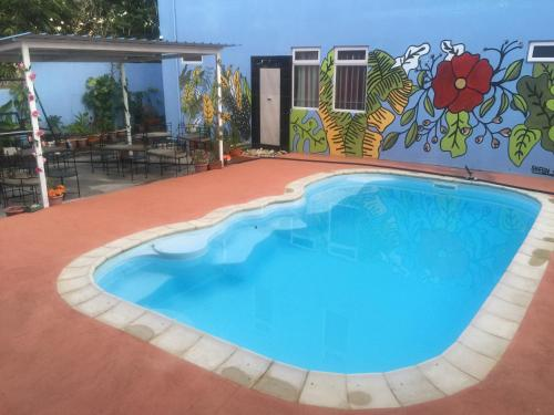The swimming pool at or near Bob Apartments