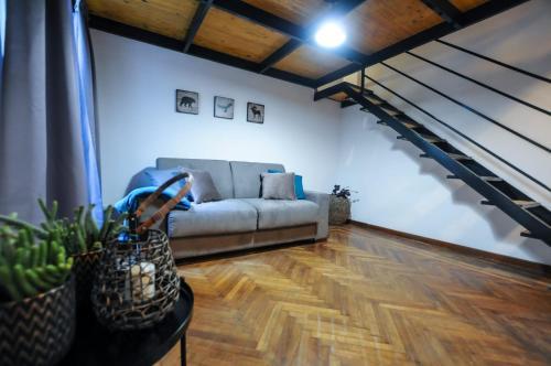 Area soggiorno di Santa Lucia Essential Home