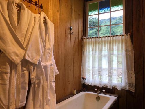 A bathroom at Paiol do Bauzinho