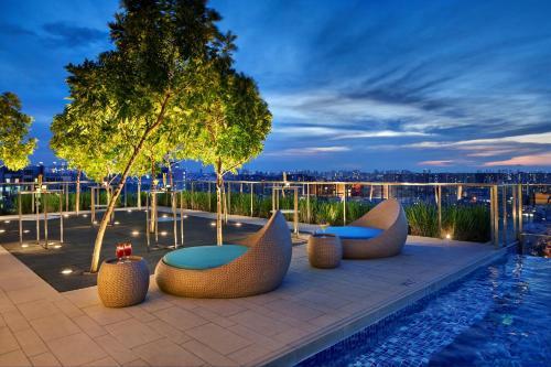 The swimming pool at or near Hotel Indigo Singapore Katong (SG Clean), an IHG Hotel