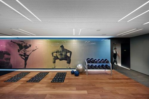 The fitness centre and/or fitness facilities at Mandarin Oriental, Barcelona