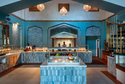 A restaurant or other place to eat at Anantara Bazaruto Island Resort