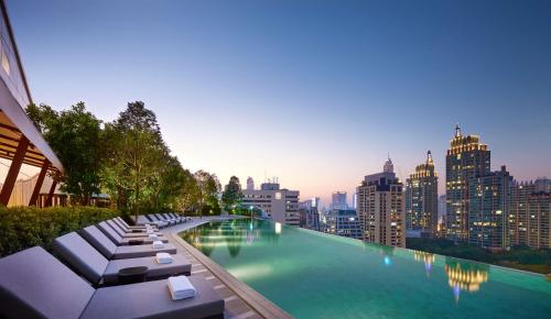 The swimming pool at or near Park Hyatt Bangkok