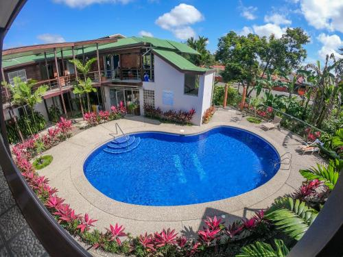 A view of the pool at Hotel Arenal Rabfer or nearby