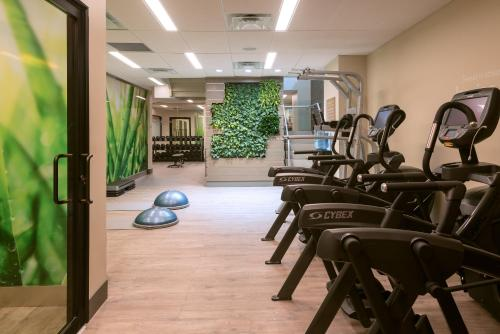 The fitness centre and/or fitness facilities at EVEN Hotel Brooklyn, an IHG Hotel