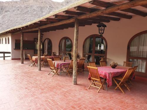 Un restaurante o sitio para comer en Aruma Codpa
