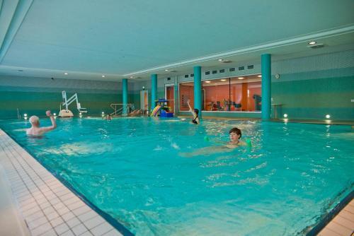The swimming pool at or near Seehotel Rheinsberg