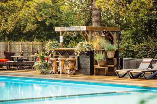 Der Swimmingpool an oder in der Nähe von Badhotel Rockanje