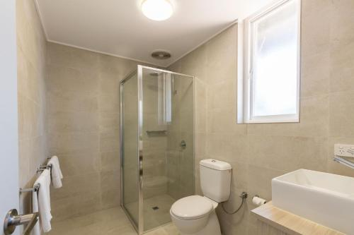 A bathroom at Nightcap at Wintersun Hotel