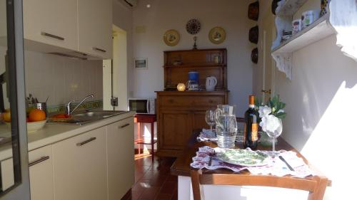 Una cocina o zona de cocina en Fra Bartolomeo