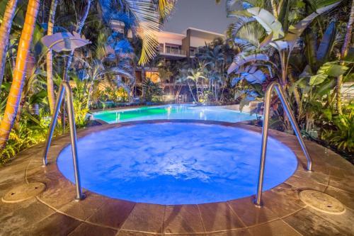 The swimming pool at or near Azzura Greens Resort