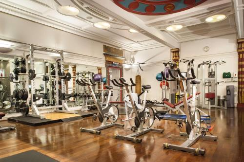 The fitness center and/or fitness facilities at Andaz London Liverpool Street - a Concept by Hyatt