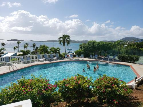 The swimming pool at or near Secret Harbour Beach Resort