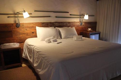 Cama ou camas em um quarto em Tayayá Aqua Resort