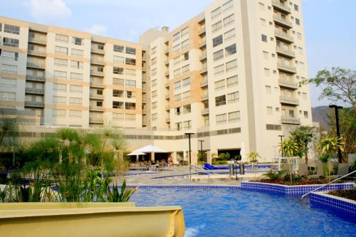 The swimming pool at or close to Flat Park Veredas 312 - Rio Quente