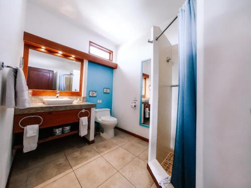 Ein Badezimmer in der Unterkunft Hotel Cucuve