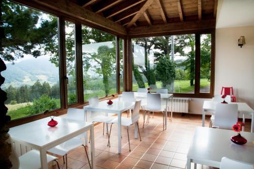 Ein Restaurant oder anderes Speiselokal in der Unterkunft La Casa de la Abuela Milagros