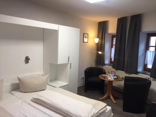 Кровать или кровати в номере Chalet Raabe