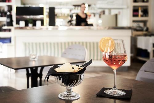 Restaurace v ubytování Villa Roma