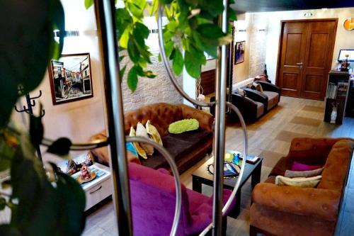 Гостиная зона в Hotel Bulevar