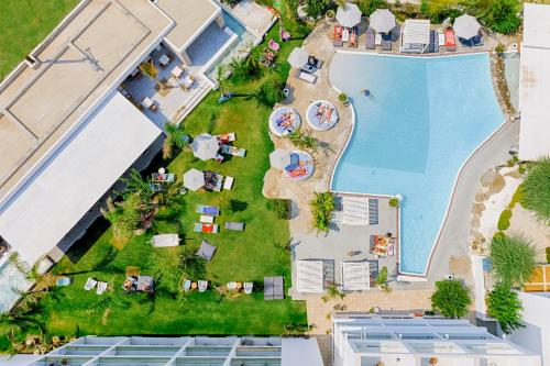 A bird's-eye view of Kouros Exclusive Hotel & Suites - Adults Only