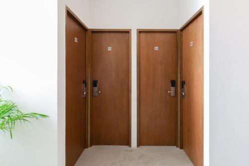 Salle de bains dans l'établissement oOstel Smart Hostel - Tulum Pueblo