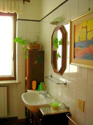 A bathroom at Villa Romaniani