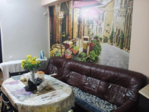 Гостиная зона в Мини-отель Тучков 3