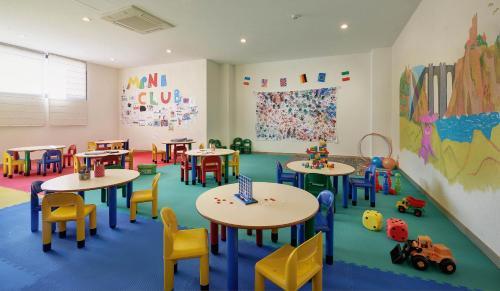De kidsclub van Hipotels Marfil Playa