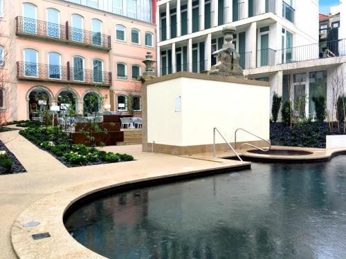 The swimming pool at or near Catalonia Porto