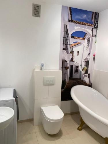Łazienka w obiekcie Apartamenty Nad Morzem