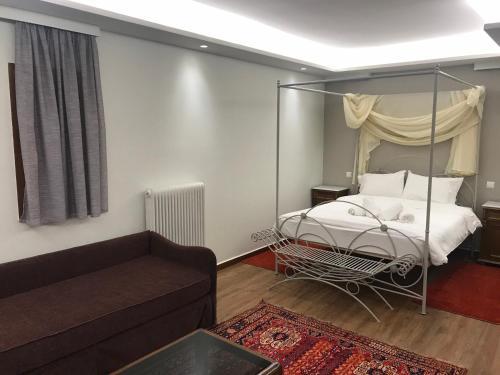 Ένα ή περισσότερα κρεβάτια σε δωμάτιο στο Finday Eco Boutique Hotel