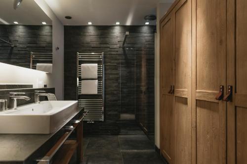 Koupelna v ubytování Eco & Wellness Boutique Hotel Sonne