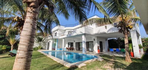 La Maison Blanche à Ngaparou, splendide villa contemporaine