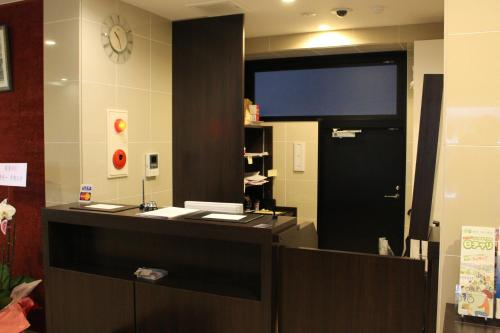 The lobby or reception area at Hotel Excellence Kyoto Station Hachijo