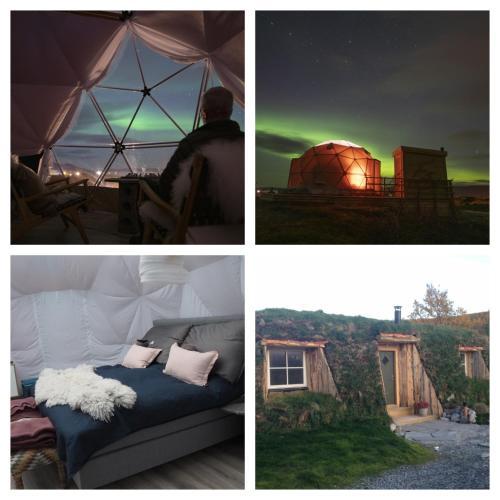 Turf house & Arctic Dome