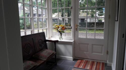 A seating area at Weston Farm Dunsyre